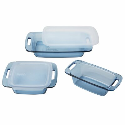 Pyrex Atlantic 5 Piece Storage Container Set 1124908