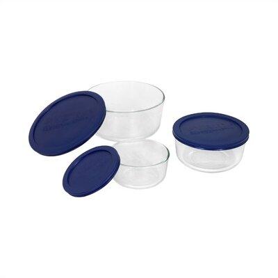 Storage Plus 6-Piece Round Dish Set 6010170