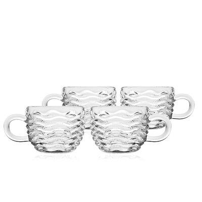 Godinger Silver Art Co Capri 5 oz. Punch Cups 49649