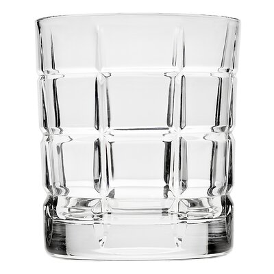 Plaid Double Old Fashion Glass 44813