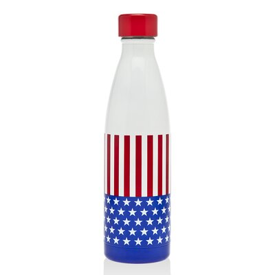 Hydration US Flag 17 oz. Stainless Steel Water Bottle 19237