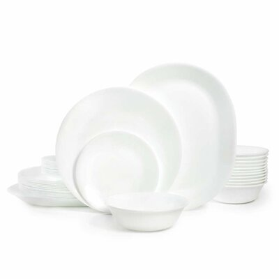 Livingware Winter Frost 38 Piece Dinner Set, Service for 12 1122113