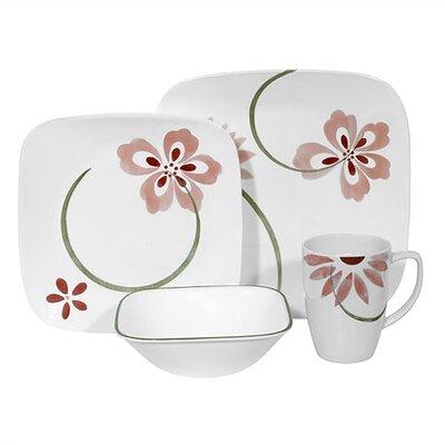 Corelle Square Pretty Dinnerware Set