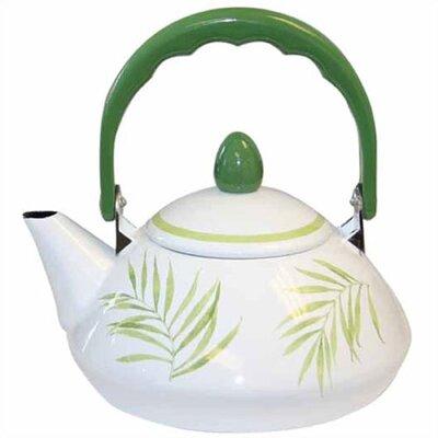 Bamboo Leaf 1.2-qt. Personal Tea Kettle