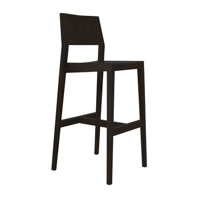 30 Bar Stool Upholstery: Ebony
