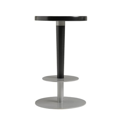 Perch 24 Bar Stool Upholstery: Ebony