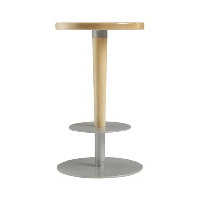 Perch 24 Bar Stool Upholstery: Natural Maple