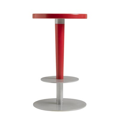 Perch 24 Bar Stool Upholstery: Red