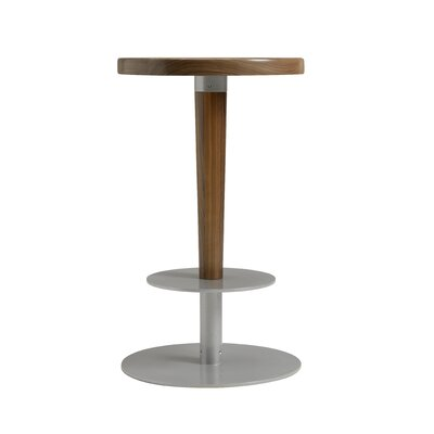 Perch 24 Bar Stool Upholstery: Natural Walnut