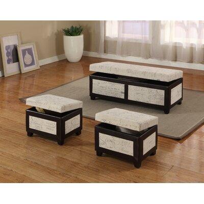 Monark 3 Piece Bedroom Bench Set