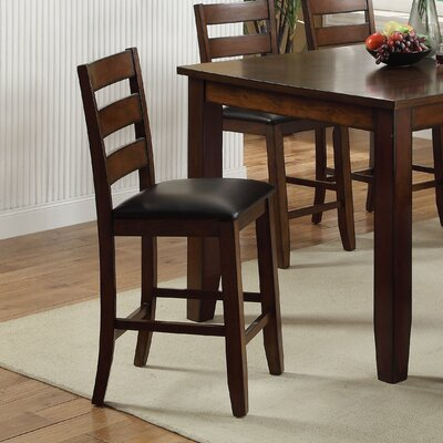 Williams Import Co. Key Town Pub Bar Stool with Cushion (Set of 2)