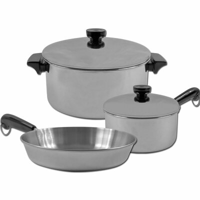 3-Ply Stainless Steel 5-Piece Cookware Set