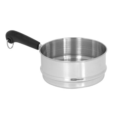 2 Qt Stainless Steel Stick-handle Steamer