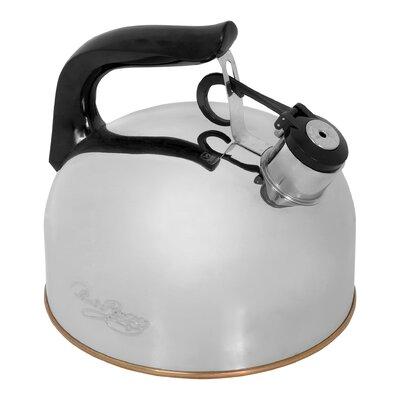 2.33 Qt Stainless Steel Whistling Tea Kettle