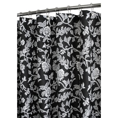 Black And White Flower Shower Curtain. Low Price Watershed Floral Swirl Shower Curtain in Black  White Buy