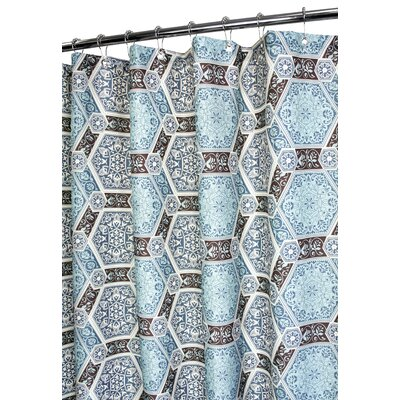Watershed Prints Polyester Renaissance Tiles Shower Curtain - Color: Light Sea Spray at Sears.com