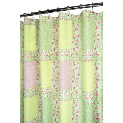 Buy Low Price Watershed Tulip Patchwork Shower Curtain In Punch Shower Curtain Mall