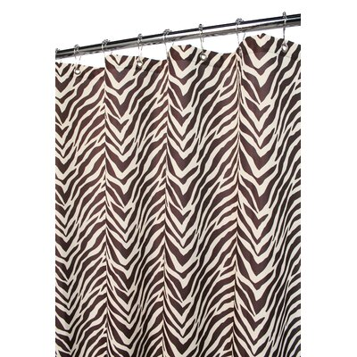 Watershed Prints Polyester Zebra Shower Curtain - Color: Natural / Coffee at Sears.com