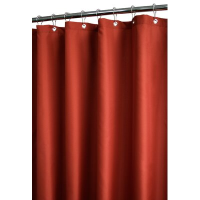 Buy Low Price Watershed Dorset Solid Shower Curtain In Russet Shower Curtain Mall