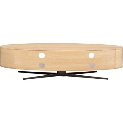 Eclipse TV Stand Finish: Light Oak