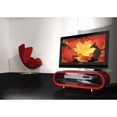 Cheap Techlink Ovid OV95 TV Stand in Red (VLP1012)