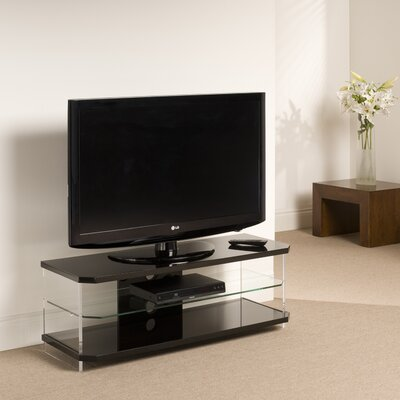 "Techlink Air 44"" TV Stand - Finish: Gloss Black"