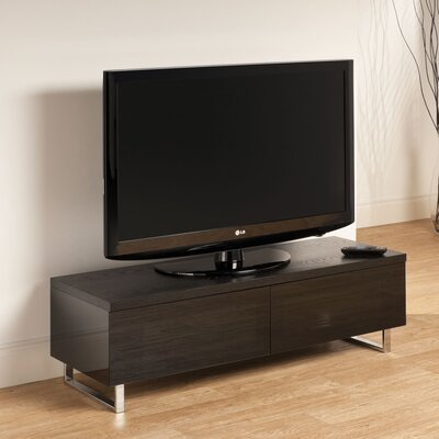 Panorama TV Stand Finish: Black Oak