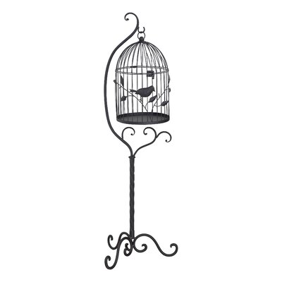 Bird Cage with Stand U1973