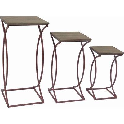 Dunson Metal 3 Piece Nesting Table Set