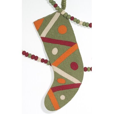 Criss Cross Christmas Stocking SF0401G