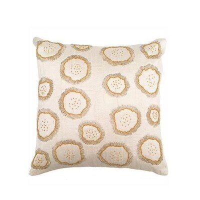 Silk Throw Pillow Cover Color: Ivory