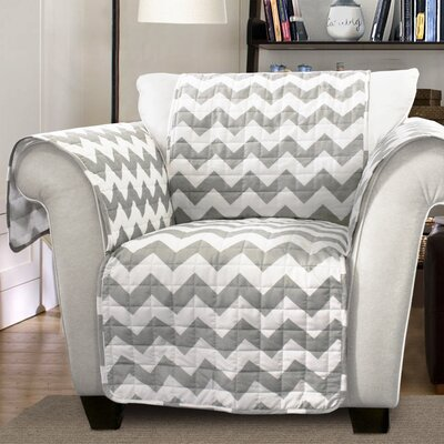 Chevron Arm Chair Protector