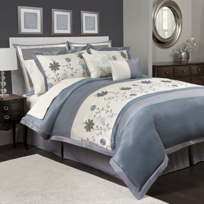 Lauren 12 Piece Full Comforter Set
