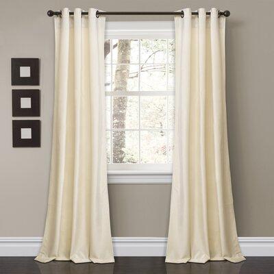 Belknap Solid Room Darkening Grommet Curtain Panels MCRF3939 41379699