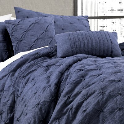 Sharvil 5 Piece Comforter Set Size: King