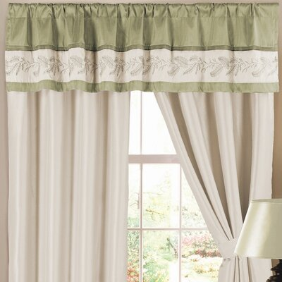 Ashlyn Valance Green Vertical Blind