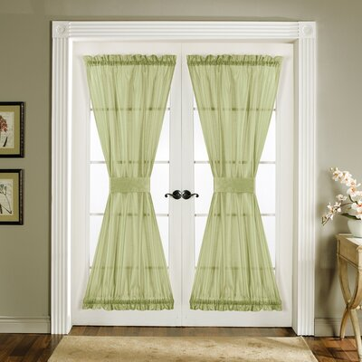 Lush Decor Sonora Rod Pocket Curtain Panel  (Set of 2) - Color: Green at Sears.com