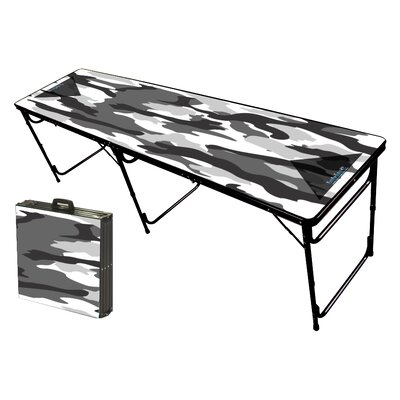 Party Pong Tables Camo White Folding and Portable Beer Pong Table at Sears.com