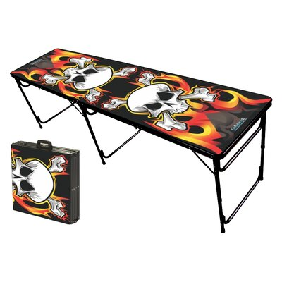 Party Pong Tables Flames Folding and Portable Beer Pong Table at Sears.com