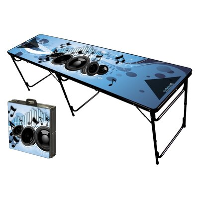 Party Pong Tables Music Folding and Portable Beer Pong Table at Sears.com