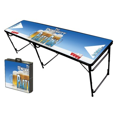 Party Pong Tables Party Pong University Folding and Portable Beer Pong Table at Sears.com