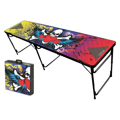 Party Pong Tables Rock On Folding and Portable Beer Pong Table at Sears.com