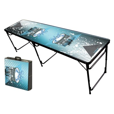 Party Pong Tables Splash Folding and Portable Beer Pong Table at Sears.com
