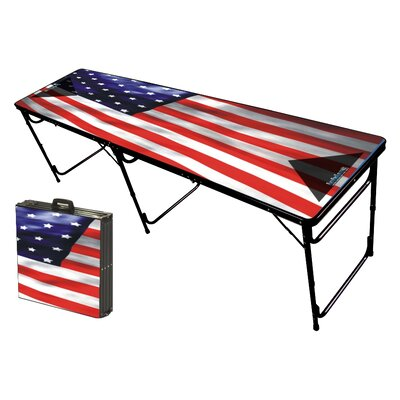 Party Pong Tables USA Folding and Portable Beer Pong Table at Sears.com