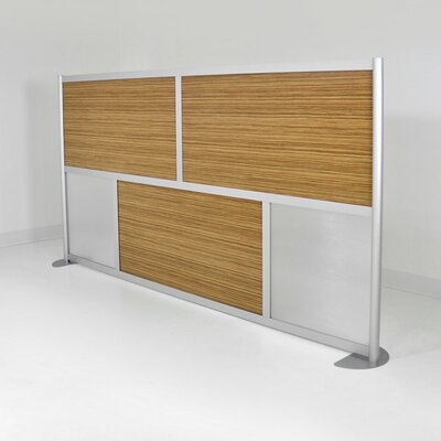 "buy low price loftwall 53"" modern low height room divider panel"