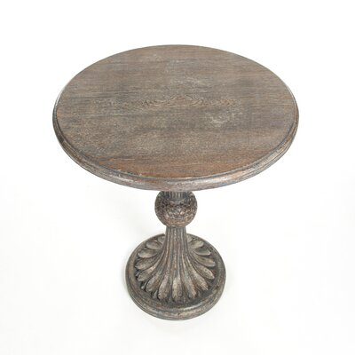 Fabiola End Table Color: Brown