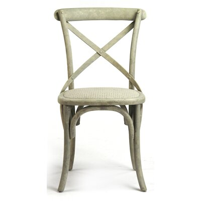 Addre Side Chair Color: Distressed White