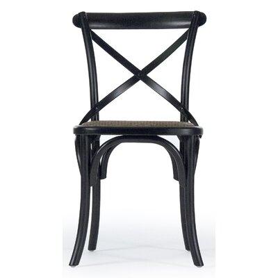 Addre Side Chair Color: Black