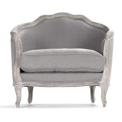 Maison Love Armchair Upholstery: Grey