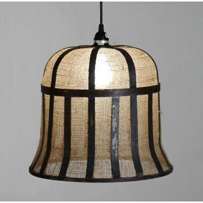 Rye Bell Inverted Pendant